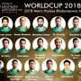 Pakistan's squad for Hockey World Cup 2018