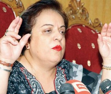 Federal Minister Human Rights; Dr Shireen Mazari condemns KP's policy on banning male chief guests at girls' schools