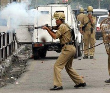 Indian troops fresh acts of state terrorism martyred four more Kashmiri youth