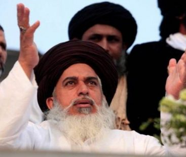 Federal government suspends TLP Khadim Hussain's official Twitter account