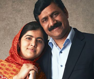 """Malala renders support for her father's latest biography named """"Let Her Fly'"""