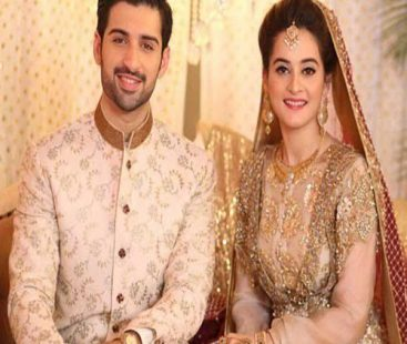 Aiman Khan and Muneeb Butt exchanged their vows