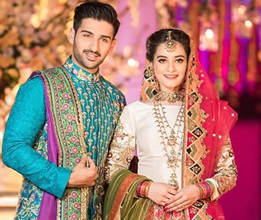 Aiman, Muneeb's never ending wedding celebrations catches all eyeballs at twitter