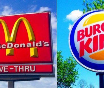 Twitter war: Mc Donalds and Burger King