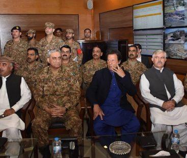 PM Imran, COAS Bajwa briefed on security situation during Miranshah visit