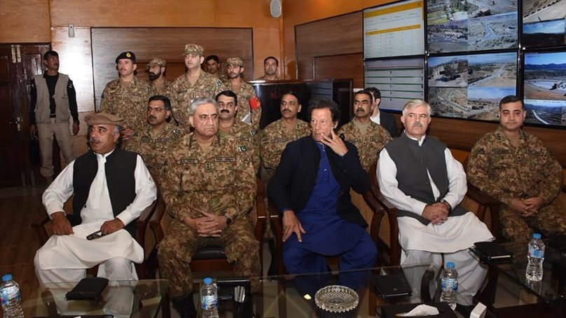 COAS Bajwa and PM Imran Khan discuss Pakistan's security affairs