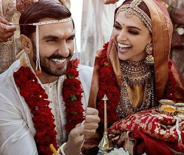 Newly wed Deepika and Ranveer Singh returned to Mumbai