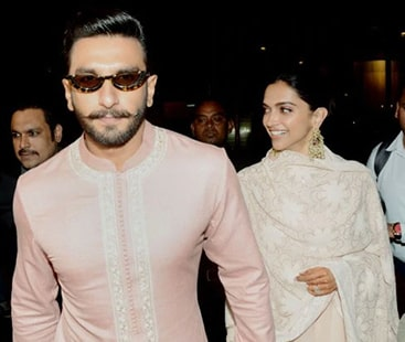 Love bird Deepika, Ranveer arrive in Mumbai after Bengaluru reception