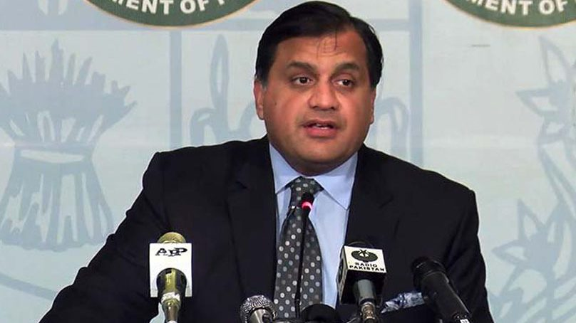 Pakistan rejects Indian statement terming crisis in occupied Kashmir an internal affair
