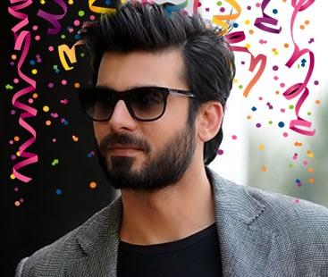 Happy birthday Fawad Khan