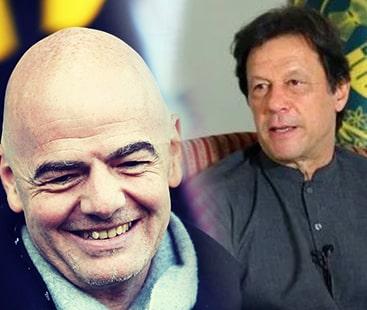 PM Imran invites FIFA President Infantino to visit Pakistan