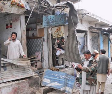 At least 20 killed in Orakzai market blast