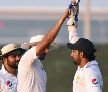 Dubai Test:Pakistan are inching closer to a series-leveling victory after removing Taylor, Latham