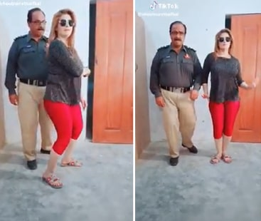 Police official suspended after dance video goes viral