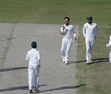 Yasir spin magic guides Pakistan to defeat New Zealand