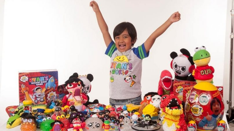 7-year-old boy earns a phenomenal $22 million just one year
