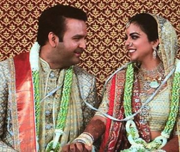 Sneak peek at Ambani's wedding clan