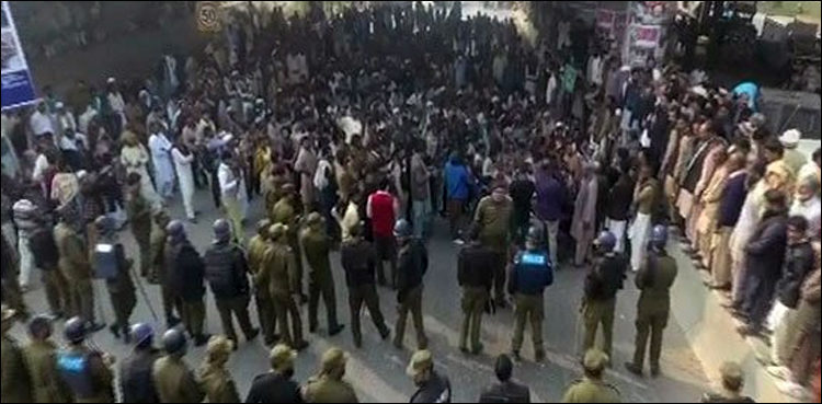 Farmers protest in Lahore enters second day
