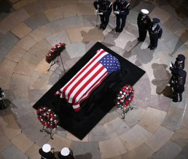 George Bush to be laid to rest post four-day tribute