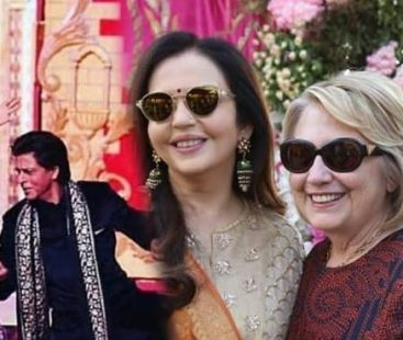 Asia's Richest Man Mukesh Ambani's daughter's wedding has lit Hollywood and Bollywood invitees