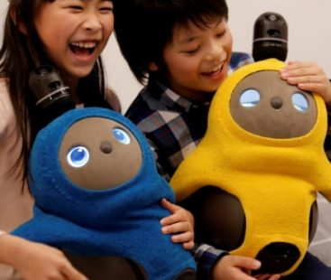 Japan's new robot is designed to make you happy!