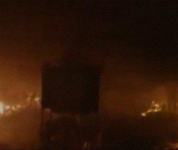 Fire engulfs Gujranwala's Lunda bazaar