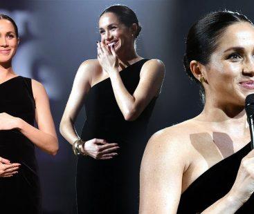 Meghan graced the 2018 British Fashion Awards