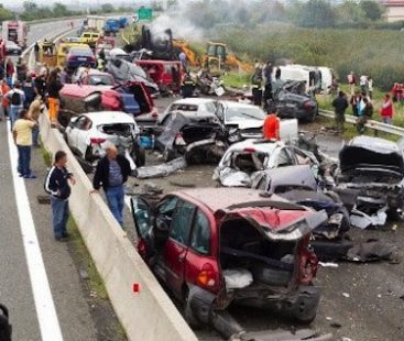 Did you know road accidents kill someone every 24 seconds?