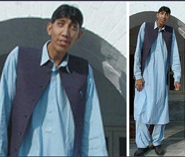 Pakistan's second tallest man appeals to public for prayers as he gets admitted to the ICU