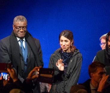 Nobel peace laureates favor justice and challenge world to combat sexual violence