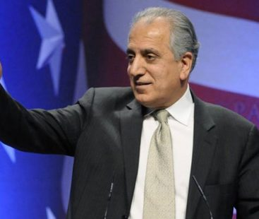 US Special Representative for Afghanistan Reconciliation Zalmay Khalilzad to arrive Islamabad to hold talks today
