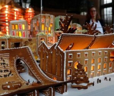 Architects create edible gingerbread city to whet appetite for design