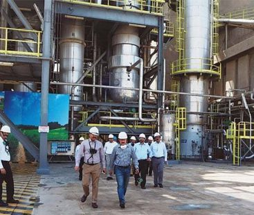 Low gas pressure hinders industrial production in SITE