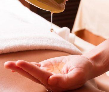 Winter wonders of a body massage