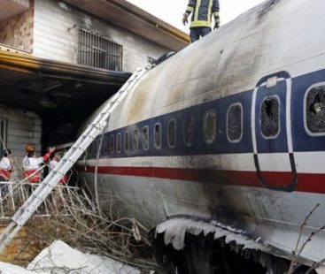 The Boeing 707 that crashed into a house in Iran
