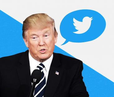 The man behind President Trump's Twitter