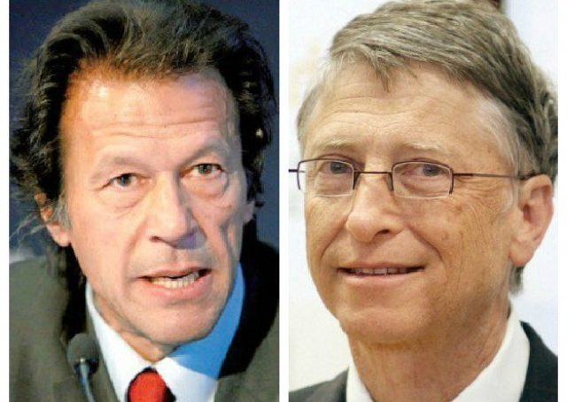 Microsoft founder Bill Gates writes a letter to Pakistan's PM Imran Khan