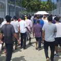 Australia refutes on-going mass hunger strike