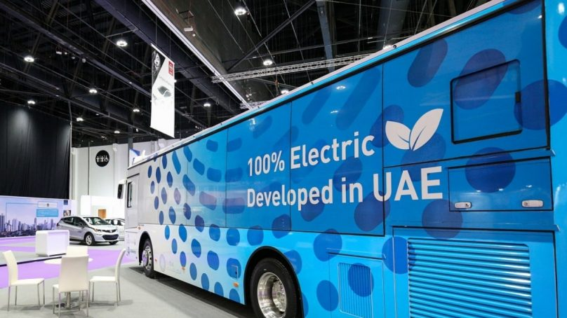 Abu Dhabi launches first electric passenger bus service