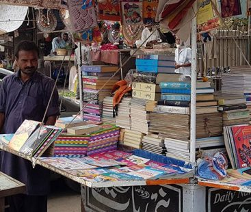 Urdu Bazaar shopkeepers stage protest ahead of anti-encroachment operation despite the deadline