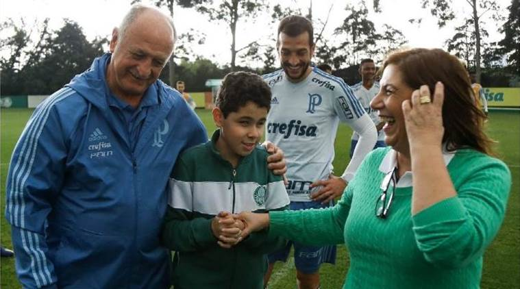 Brazilian mother narrates live football match to her blind autistic son