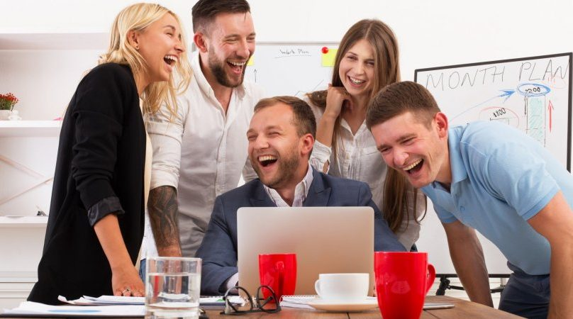 Why laughing at work can help us be more productive