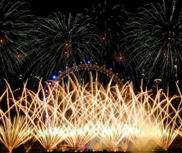 New year celebrations across the globe