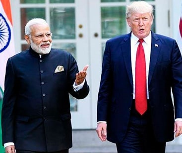 Trump derides Indian PM Modi for funding Afghanistan's library