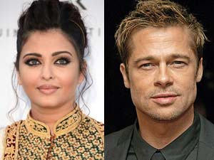 Aishwarya Turns Down Brad Pitt