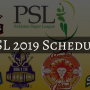 PSL 4 Timetable: Final schedule unleashed
