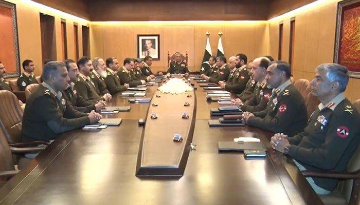 Corps Commanders express solidarity with Kashmiri brethren