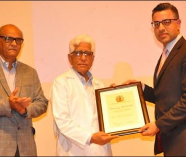 Adib Rizvi becomes the first Pakistani surgeon to receive the honorary membership of the British Association of Urological Surgeons (BAUS)