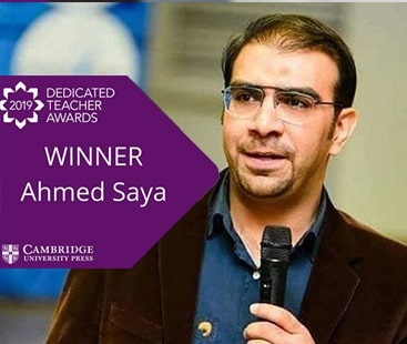 Pakistani teacher wins Cambridge University's 'Dedicated Teacher Awards 2019'
