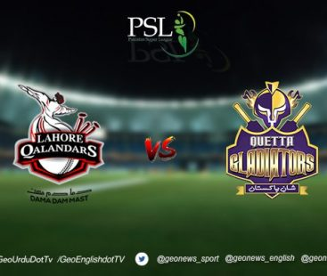 Lahore Qalandars set to face Quetta Gladiators today at the Dubai International Cricket Stadium